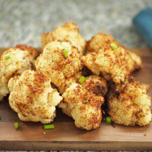 air fryer crispy cauliflower
